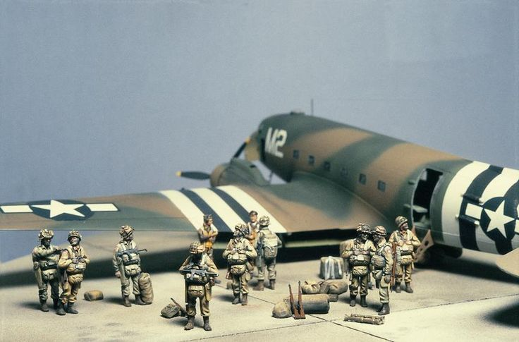 d day diorama for sale
