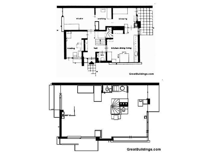 Eileen Gray E1027 Floor Plan Eileen Gray S E 1027 On
