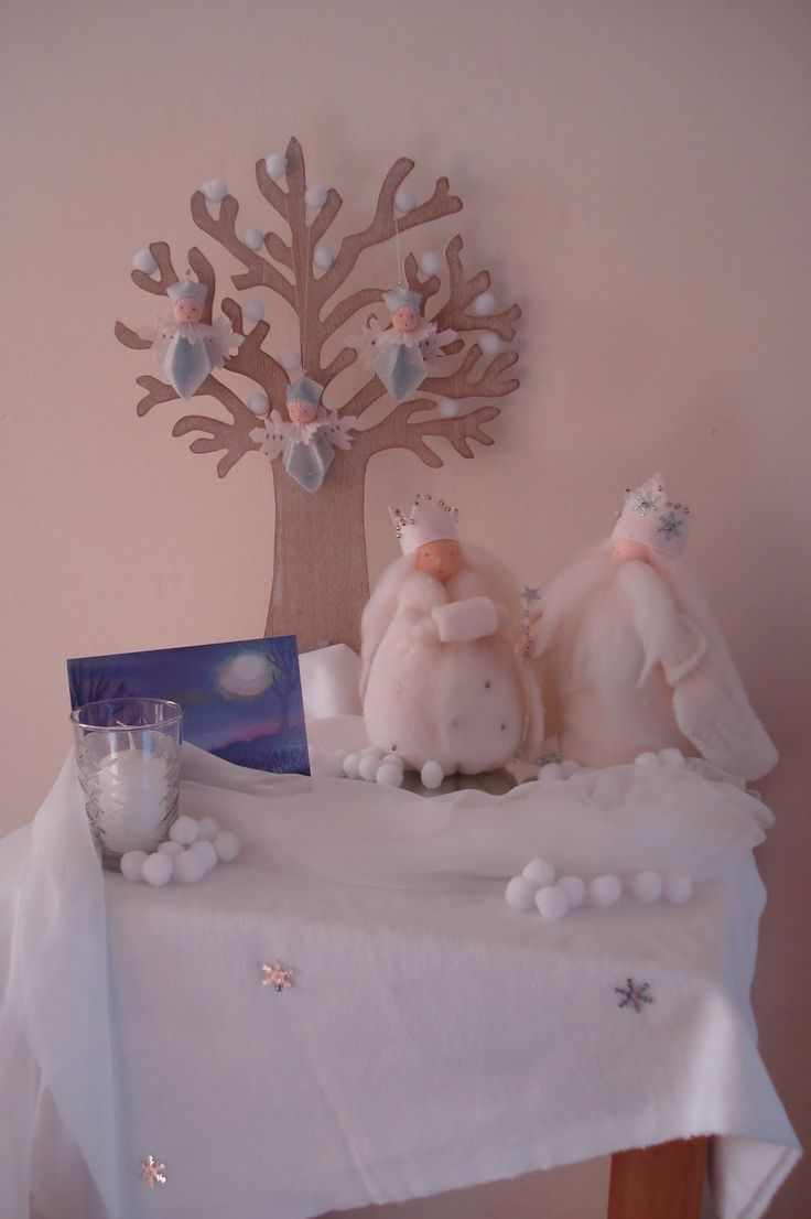 Poppenatelier Barbara: Het is winter!