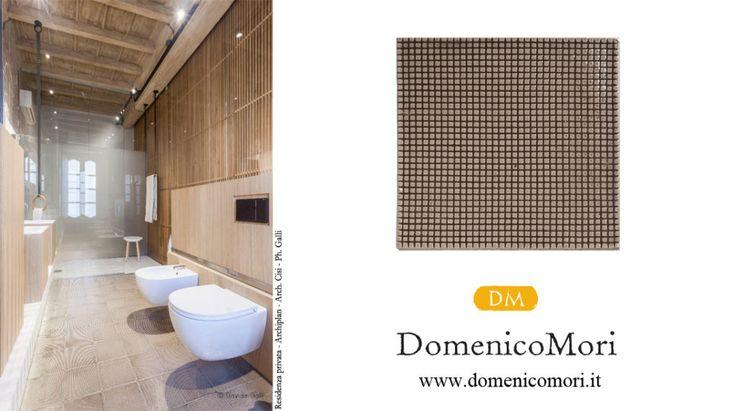 Floor with craquelé tiles F1 PIXEL #MoriDomenico
