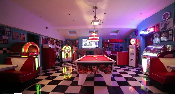 Retro Man Cave Furniture : S soda fountain man cave barsandbooths