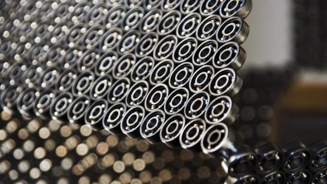 Metal art PM1 detail | Lebesque Design