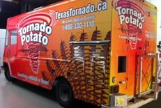Gourmet Food Trucks - Tornado Potato
