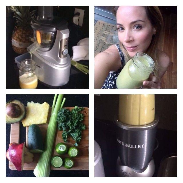 Hola a todos aquí va el 1er día #desayuno de #operacionbikinisalud #detoxph #medicalima #coachchristinalima JUGO : una rama de apio, 5 limones,1/2 pepino, 3 manzanas chicas verdes, 1/4 de Kale o espinaca y 1 rebanada de piña ( la manzana debe de ser verde porque son frutas acidas con ácidas ) y 2 rebanadas de aguacate . Instrucciones : primero vamos a poner en el extractor cold press todo los ingredientes menos el aguacate y una manzana, cuando ya este listo vamos a verter el jugo obtenido…