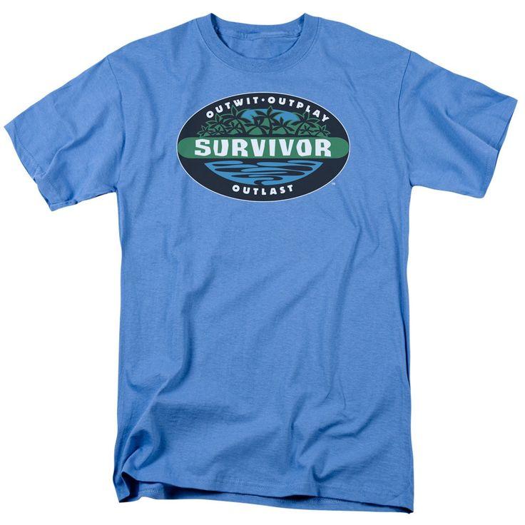 Survivor/Borneo Short Sleeve Adult T-Shirt 18/1 in Carolina