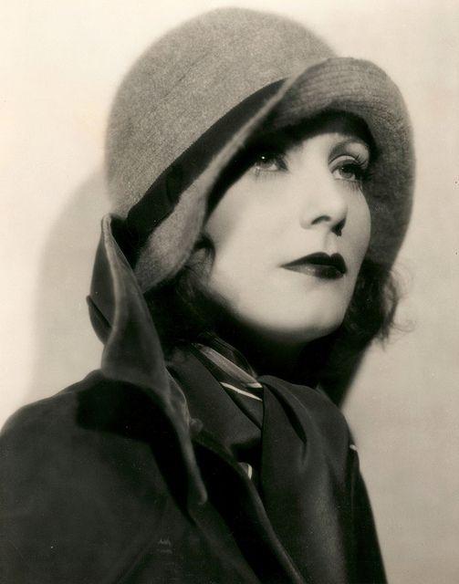 Great Garbo, fascinatingHarriet Louis, Greta Garbo, Vintage, Beautiful, Sophisticated Style, Hollywood, Cloche Hats, Art Deco