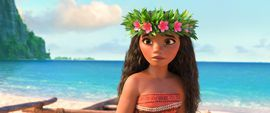 Making 'Moana': The special effects behind the movie     - CNET  Enlarge Image  Photo by                                            Disney                                          Walt Disney Animation Studios heads out to sea with its next computer-generated feature film called Moana.   Its a coming-of-age story about a girl named Moana voiced by newcomer Auli'I Cravalho who sets sail on a mission to save her people. Along the way she meets the mighty demigod Maui voiced by Dwayne The Rock…