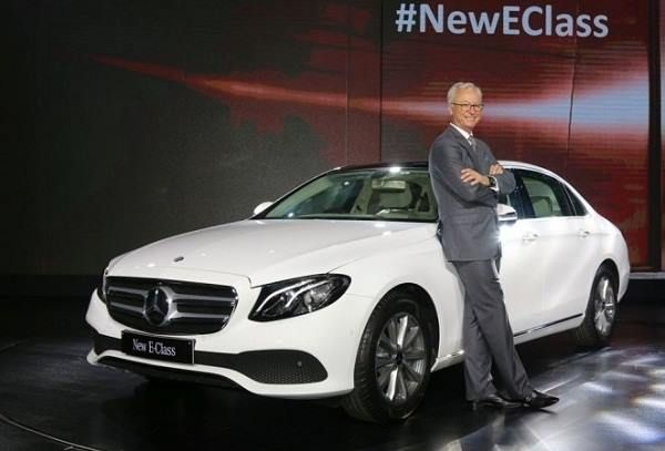 Mercedes-Benz India Launches 2017 E-Class in India For complete news click here...https://goo.gl/TwcqSB #2017MercedesBenzEClass