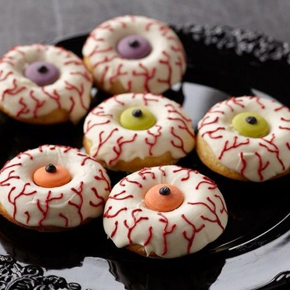 Halloween eyeball doughnuts by Wilton - For all your cake ...