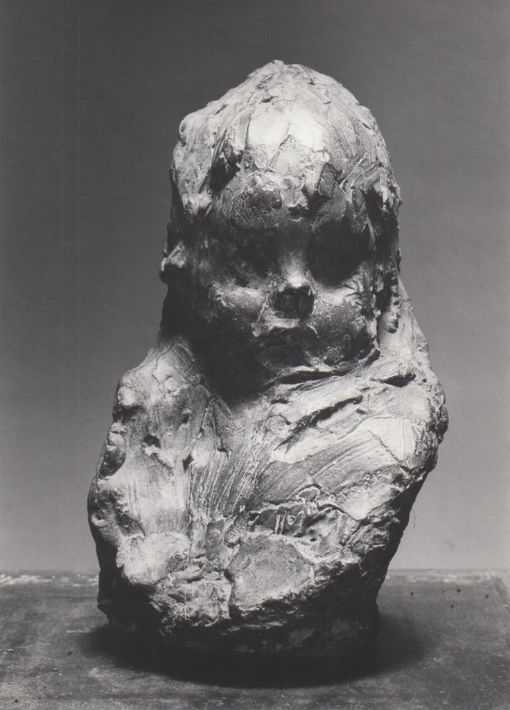 Medardo Rosso  Bambino al sole, 1891-1892 - Gesso Patinato