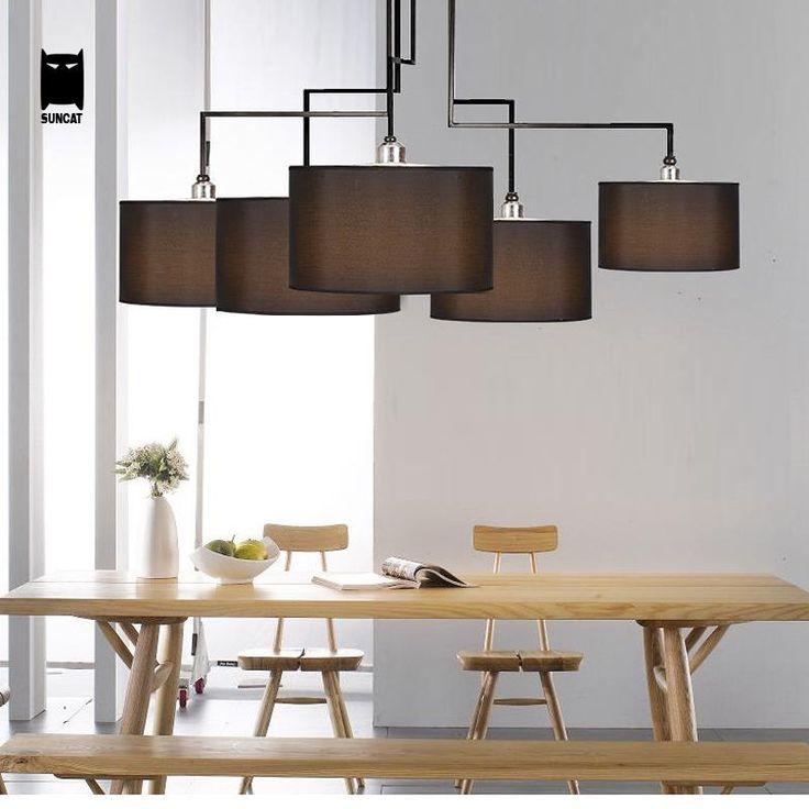 Black Arch Wrought Iron Chandelier Ceiling Light Fixture Pendant Hanging Lamp