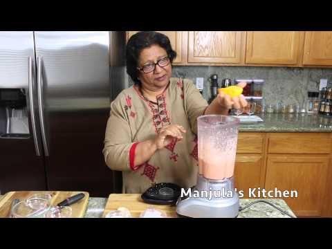 Fruit Smoothie - Manjula's Kitchen - Indian Vegetarian Recipes