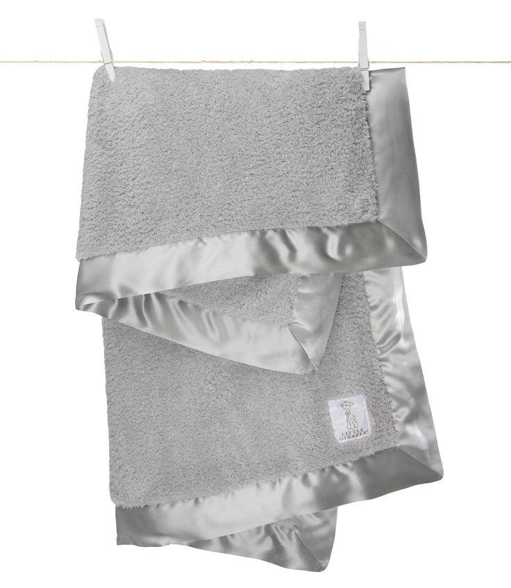 Little Giraffe - Chenille Blanket - Silver CANADA Free Shipping at RockprettyBaby.ca