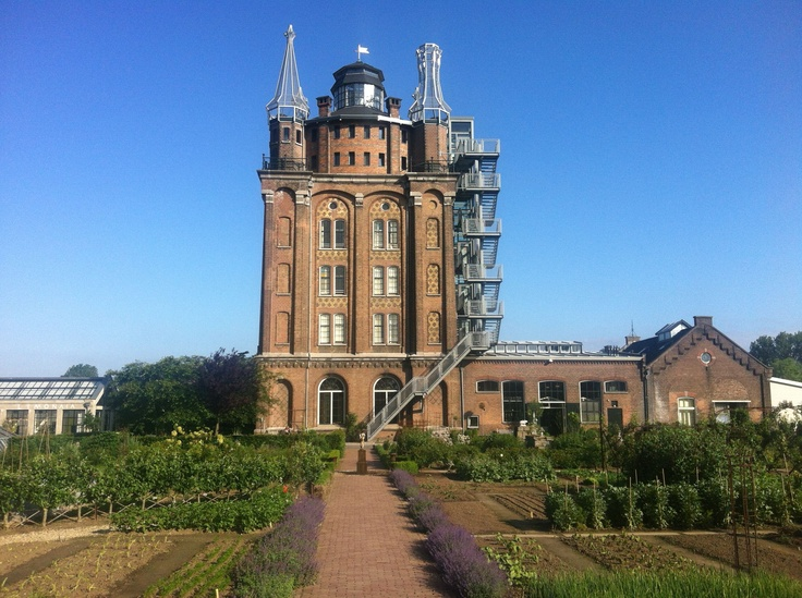 water tower converted into hotel