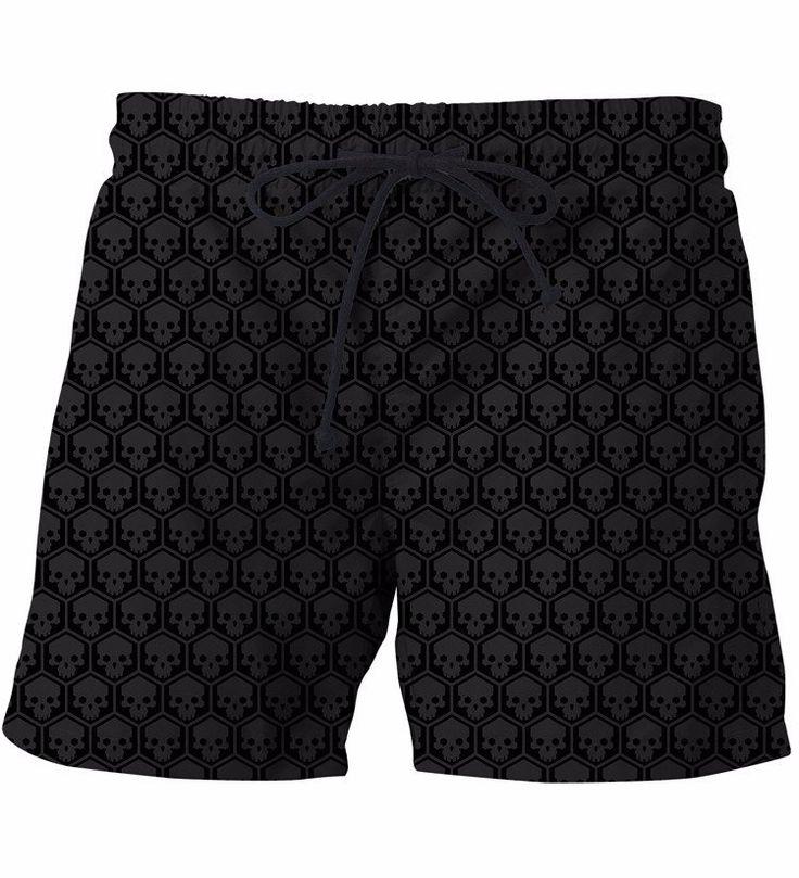 The Punisher Symbol Skull Beehive Pattern Trending Design Streetwear Art Shorts  #ThePunisher #Symbol #Skull #Beehive #Pattern #Trending #Design #Streetwear #Art #Shorts