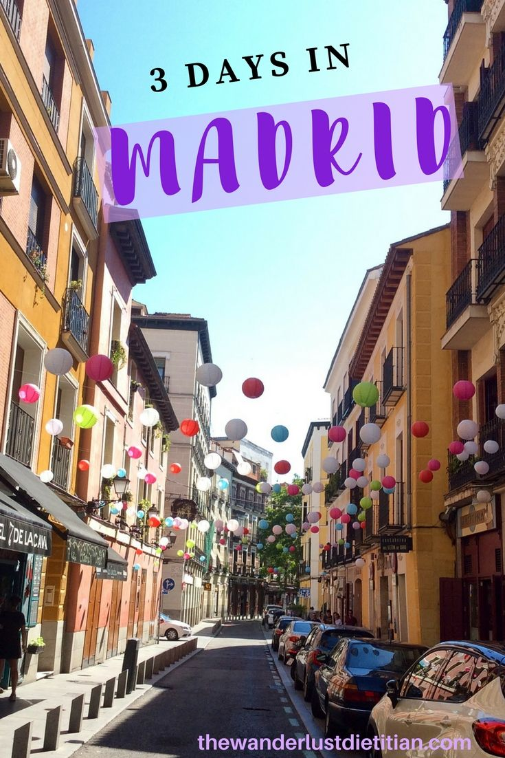 Do you want to know how to see Madrid in 3 days? Explore this vibrant capital with us as we eat, wander, and find street art!**********************************Madrid, Spain, 3 days in Madrid, Madrid in 3 days, San Gines, Park Retiro, #europe #madrid #spain