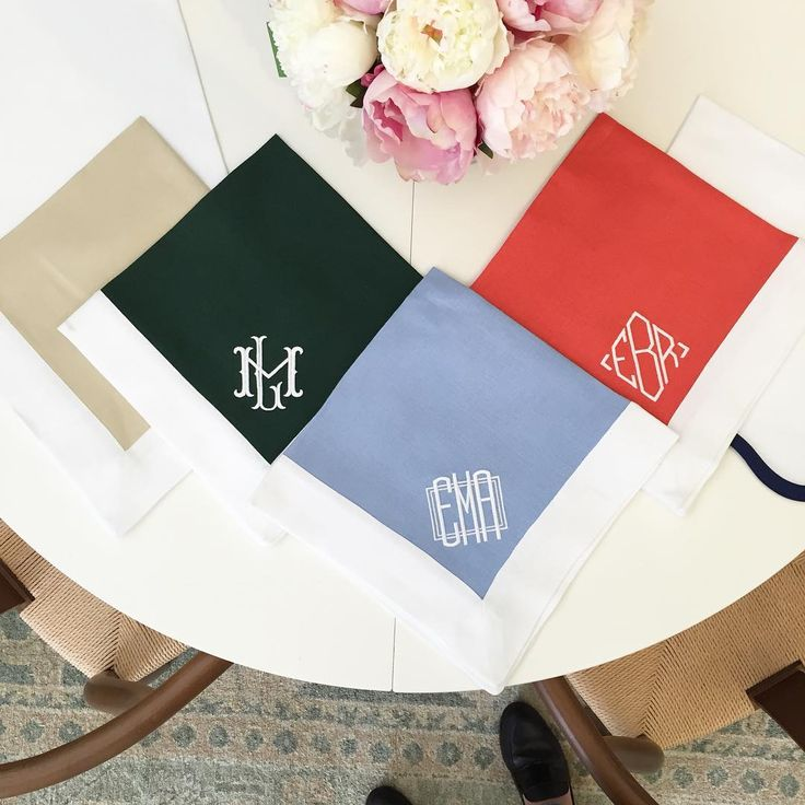 Stop By This Week To Check Out Our New Monogrammed Table Linens. Theyu0027ll