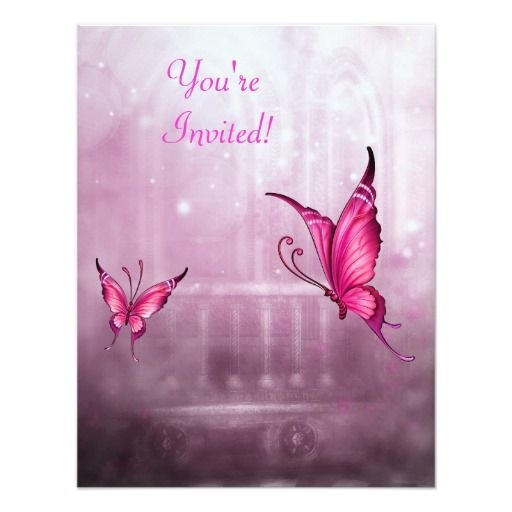 Ethereal Fantasy Pink Butterfly Event