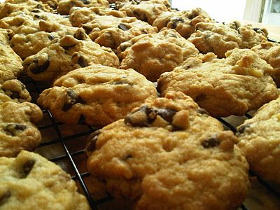 Jack Daniels Chocolate Chip Cookies- though I couldn't really taste the Jack Daniels, the recipe made a great tasting and soft cookie!