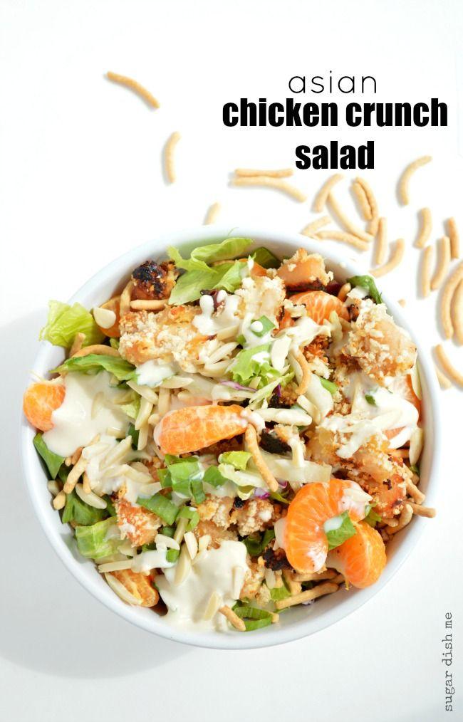 Asian Chicken Crunch Salad