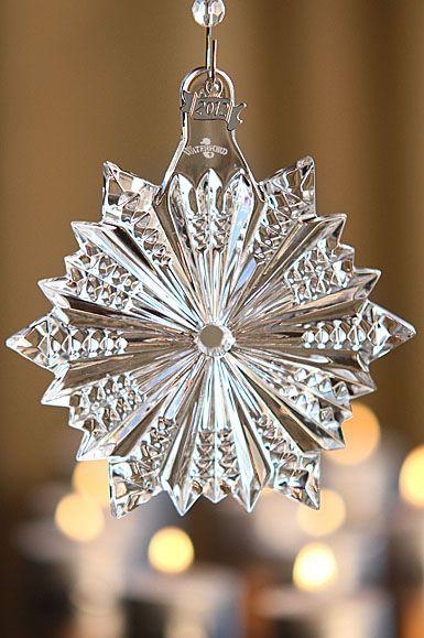 Waterford 2012 Snow Crystal Pierced Ornament