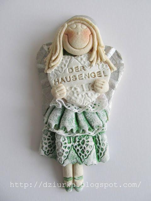 anioł z masy solnej, der hausengel, anioł domu
