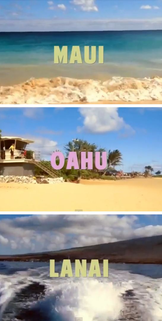 Clips from videos taken on Maui, Oahu and Lanai from Lovely Clusters. Enjoy! http://www.youtube.com/watch?v=j2MwxhDD-YE