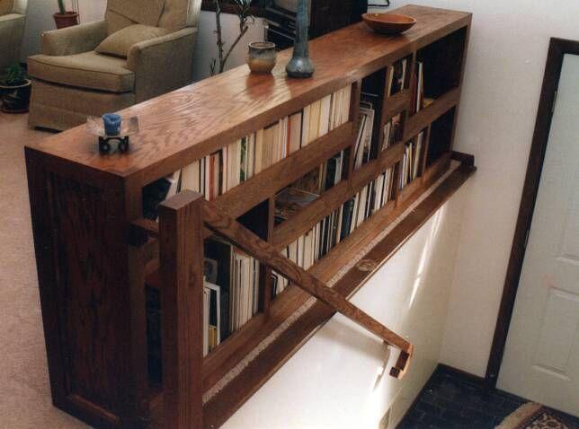 jbenda living room bookcase