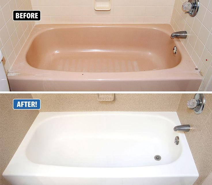 This bathtub was outdated, chipped and very difficult to clean. Miracle Method refinished the tub and tile in just 3 days at a fraction of the cost of replacement and the grout lines are all sealed in, making it easy to clean! www.miraclemethod.com