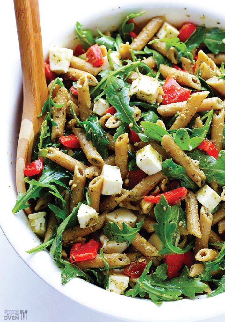 Try making this 5-ingredient Pasta Salad for your next barbeque appetizer!