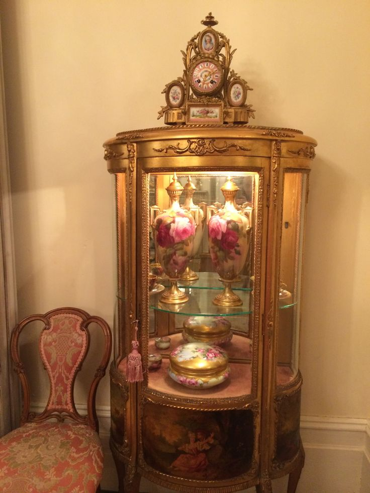 antique french vitrine - 101 Best French Furniture Images On Pinterest Antique Furniture