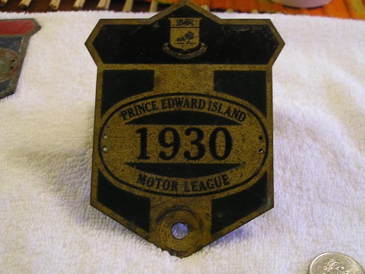PRINCE EDWARD ISLAND PEI 1930 MOTOR LEAGUE
