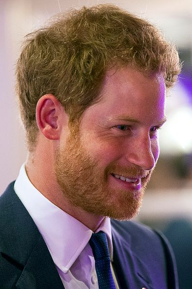 Prince Harry speaks with award winners whilst attending the WellChild Awards, which recognises the courage of seriously ill children, at the London Hilton on October 5, 2015 in London, England.