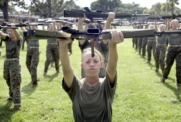 US Marine Corps is shifting toward gender-neutral job descriptions, it's revealed | Daily Mail Online