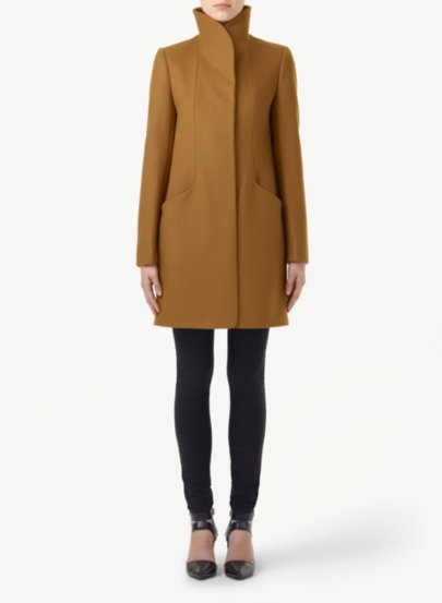 Every girl needs a good camel coloured coat