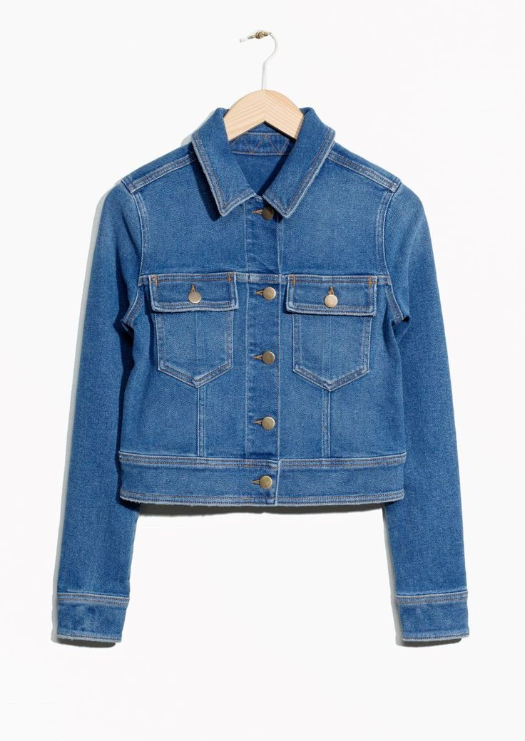 Under-$150 Jean Jackets You'll Want To Live In This Summer+#refinery29 &Other Stories $95