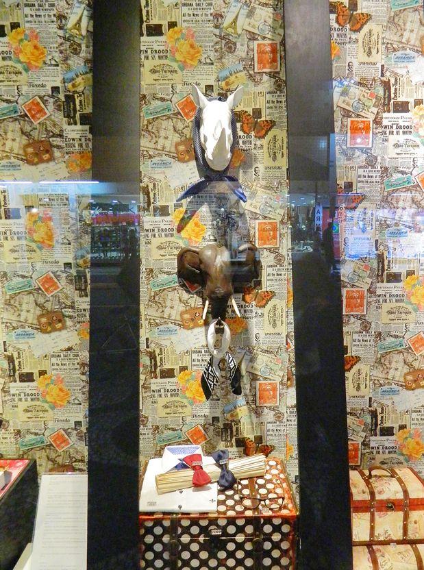 Vitrine conceito apresenta universo masculino e sofisticação para Dia dos Pais agosto 2014  Atlântico Shopping Balneário Camboriú por Alexandra Difa & Deise Gonçalves