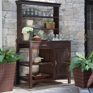 outside bar/potting bench
