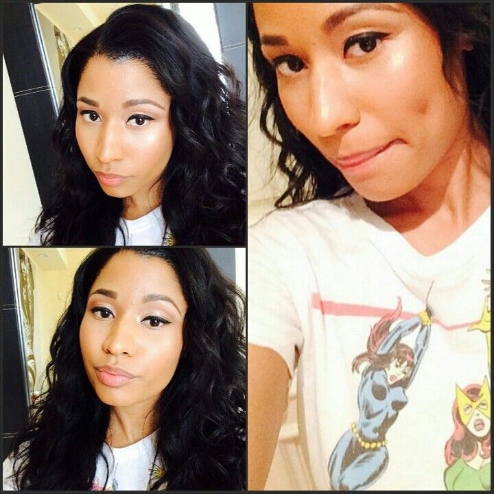 Nicki minaj natural look
