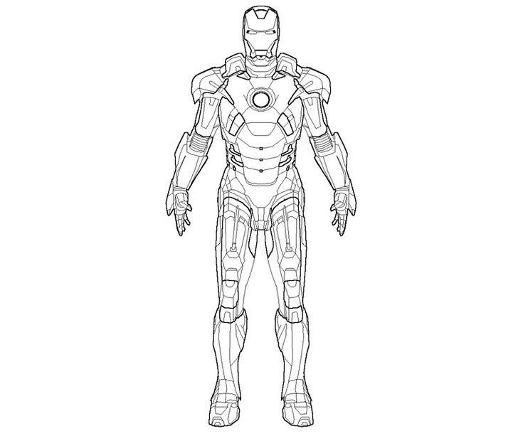 6 coloriage iron man recettes lgres pinterest - Coloriage Iron Man