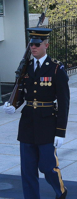 The Tomb of Unknown Soldier. Arlington Cemetery. Arlington, VIRGINIA   (by hoxie1963, via Flickr)