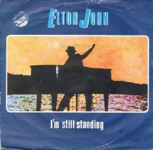 Elton John I'm Still Standing Single.