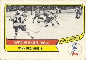 1976-77 O-Pee-Chee WHA – Road to the Avco Cup