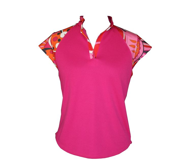 Exotic Collection: Pink top, AUD$40 or $72 with a skort from our mix and match options (http://www.ladygolfwear.com.au/mix-and-match-exotic-collection/)