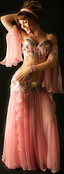 Love this costume!....bellydancing gives you such an amazing shape!