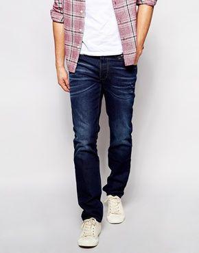 asos jeans weste herren sch ne jeansmodelle. Black Bedroom Furniture Sets. Home Design Ideas