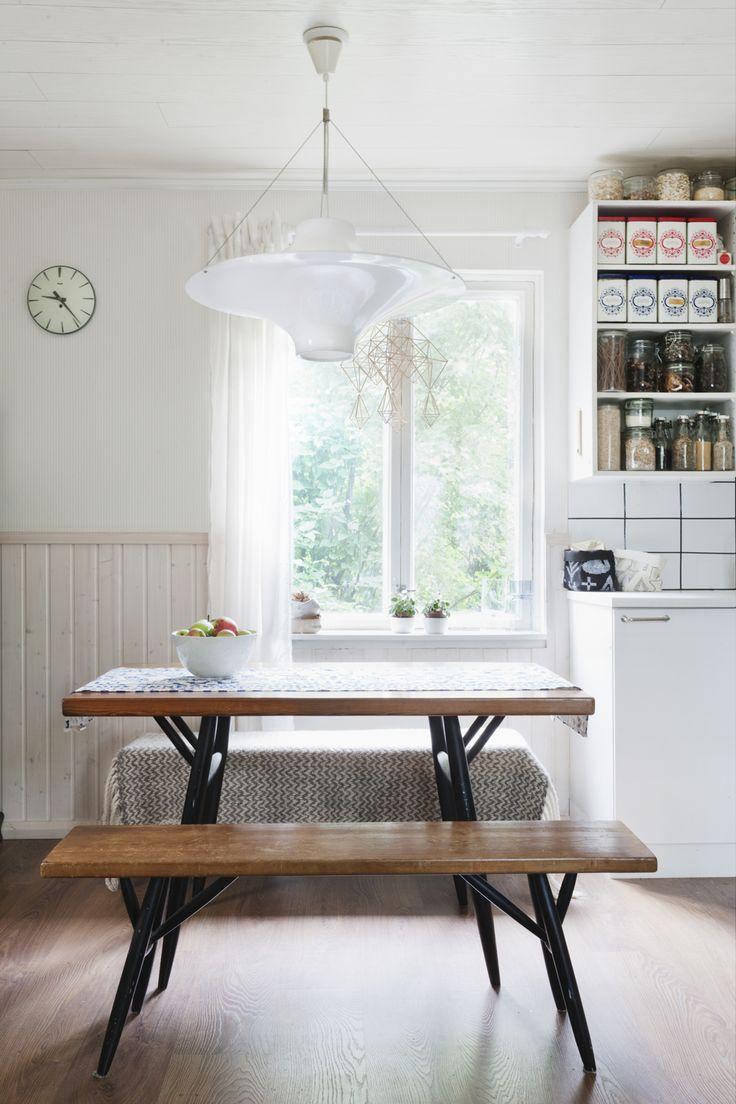 SNEAK PEEK TO THE HOME OF SAANA JA OLLI Kitchen Dining RoomsDining Room