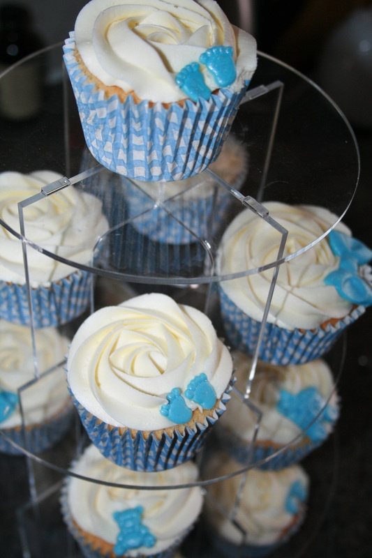 Cupcakes for a boy....    Christening, New baby & Naming Day Cupcakes - Mama's Cakes