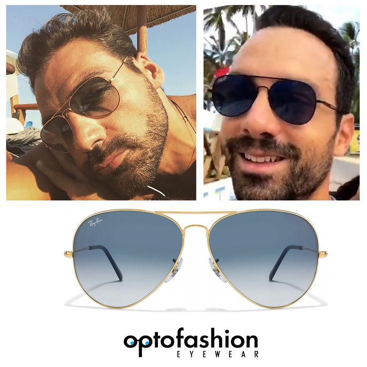 Ο παρουσιαστής του Survivor, Σάκης Τανιμανίδης, αγαπάει τα γυαλιά ηλίου σε σχήμα Aviator (πιλότου), εσύ; Δες την συλλογή Aviator σε special τιμές στο #Optofashion !