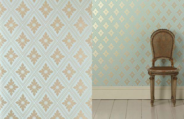 Farrow and Ball Wallpaper - close up!
